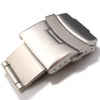 18mm, 20mm or 22mm Stainless Steel Watch Parts Divers Clasp buckle - Strapcode