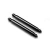 Rare Black PVD Finish 20mm or 22mm Heavy Duty 2 Telescope Spring Bar Dia. 2.5mm Strapcode Spring Bars