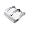 20mm 22mm or 24mm High Quality 316L Stainless Steel Screw type Bevel PV 4mm Tongue Buckle Brushed finish Strapcode Buckles