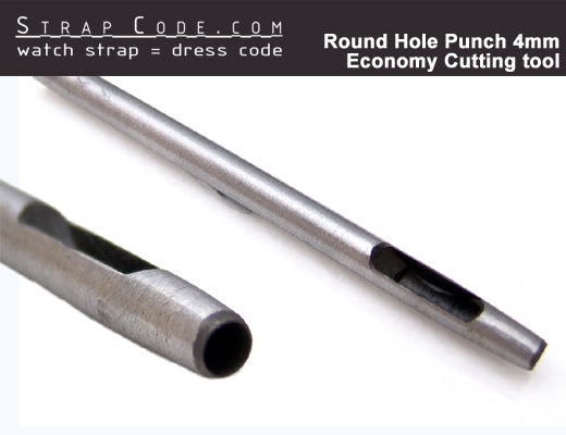 Round Hole Punch 4mm Economy Cutting tool