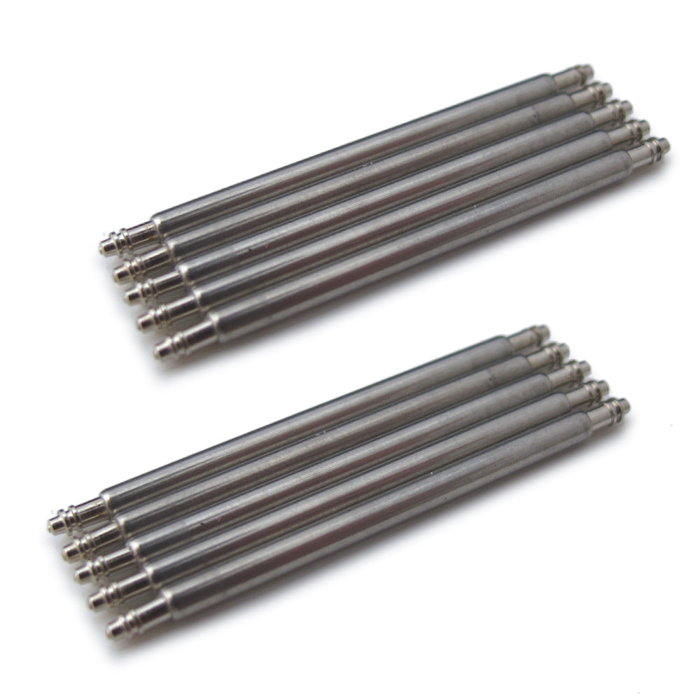 Spring Bars Double Shoulder 1.78mm (pack of 20 pieces) Strapcode Spring Bars