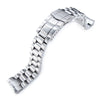 20mm Endmill watch band for SEIKO Sumo SBDC001 SBDC003 SBDC005 SBDC031 SBDC033 Solid SUB Clasp Strapcode Watch Bands