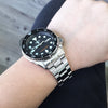 20mm Super Oyster Watch Bracelet for Seiko SKX013, Brushed 316L Stainless Steel, Chamfer - Strapcode