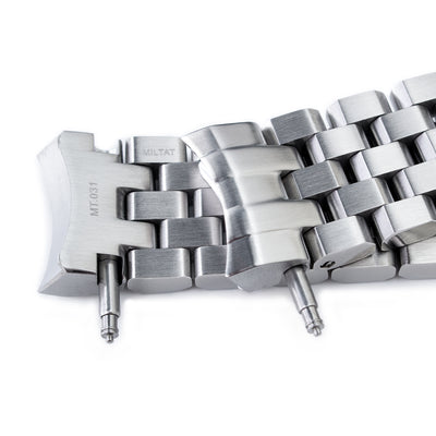 Super Engineer II watch band for SEIKO Sumo SBDC001, SBDC003, SBDC005, SBDC031, SBDC033, Solid Submariner Clasp