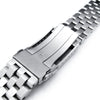 Watch Bracelet for Seiko MM300 Prospex SBDX001, 20mm Super Engineer II, Submariner Brushed