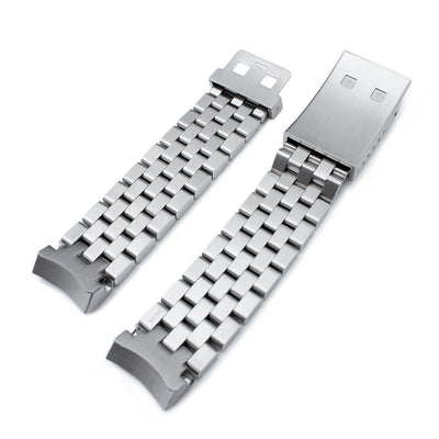 Super Engineer II watch band for SEIKO Sumo SBDC001 SBDC003 SBDC031 SBDC033, OME Seatbelt