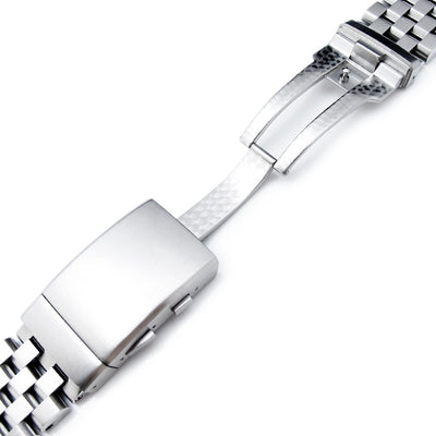 Super Engineer II watch band for SEIKO Sumo SBDC001 SBDC003 SBDC031 SBDC033, Wetsuit Clasp