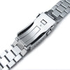 22mm Solid 316L Stainless Steel Endmill Watch Bracelet for SEIKO Diver 6309-7040, Solid Submariner Clasp
