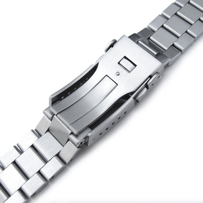 22mm Endmill Watch Bracelet for Seiko New Turtles SRP777 & SRPA21 SUB Clasp Brushed Strapcode Watch Bands