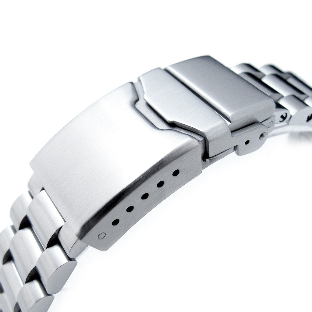 ea307fc5887 22mm Endmill 316L Stainless Steel Watch Bracelet for Seiko New Turtles  SRP777   PADI SRPA21