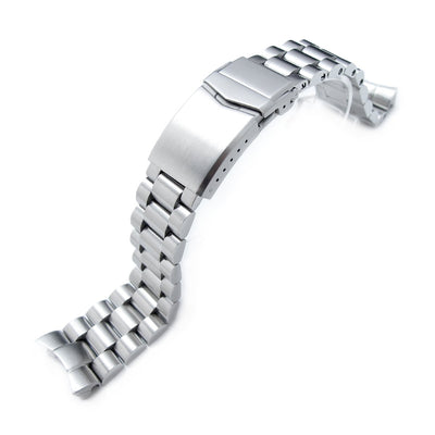 Seiko Mod 5 Sports Curved End Endmill Bracelet | Strapcode
