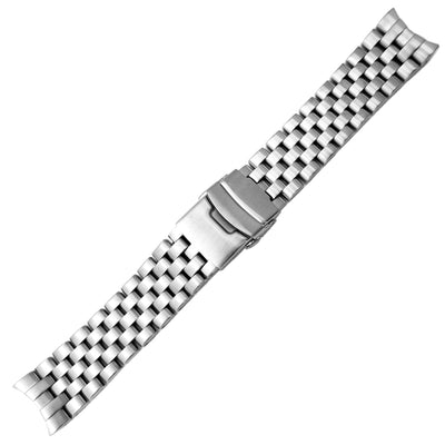 22mm SOLID 316L Stainless Steel Super Engineer Watch Band for SEIKO SKX007/009/011