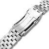 22mm Super Engineer II watch band for SEIKO Diver SKX007/009/011, Solid Submariner Clasp