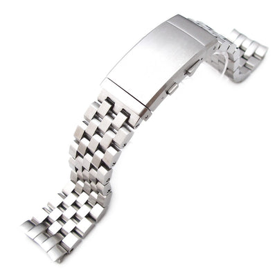 22mm Super Engineer II watch band for SEIKO Diver 6309-7040, Brushed, Wetsuit Clasp