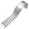 24mm Bandoleer Soild 316L stainless Steel Replacement band for Panerai 44mm - Strapcode