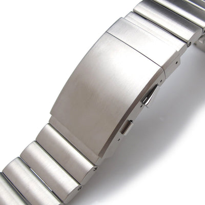 24mm Bandoleer Soild 316L stainless Steel Replacement band for Panerai 44mm