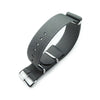 MiLTAT 22mm G10 Military Watch Strap Ballistic Nylon Armband Polished Military Grey Strapcode Watch Bands