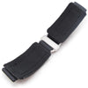 20mm 22mm 23mm 24mm MiLTAT Honeycomb Black Nylon Velcro Fastener Watch Strap Sandblasted Buckle Strapcode Watch Bands