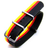 22mm NATO GERMAN SPECIAL EDITION-BRUSHED (GERMAN Flag VER II) Strapcode Watch Bands