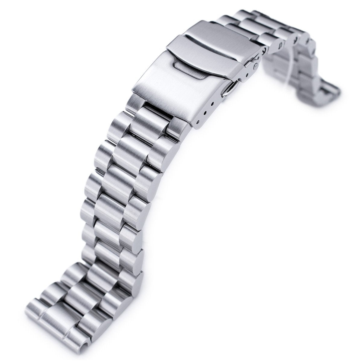 20mm Endmill Solid 316L Stainless Steel Watch Bracelet Straight End Strapcode Watch Bands