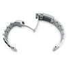 20mm Super-O Boyer 316L Stainless Steel Watch Bracelet Straight End SUB Diver Clasp Brushed Strapcode Watch Bands