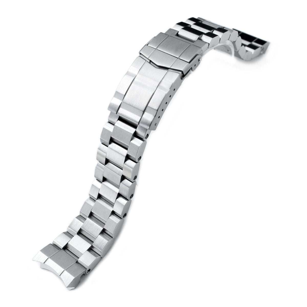 20mm Hexad 316L Stainless Steel Watch Band for Sumo SBDC001 SUB Clasp Strapcode Watch Bands