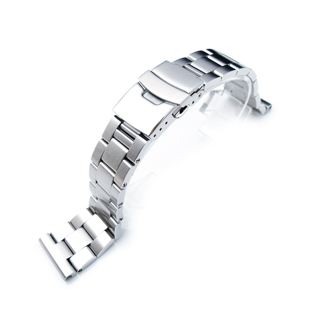 22mm Super-O Boyer watch band Solid Links Straight Lug Strapcode Watch Bands
