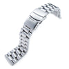 22mm Solid 316L Stainless Steel Endmill Metal Watch Bracelet Straight End Strapcode Watch Bands