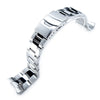 22mm Super-O Boyer Brushed & Polished 316L SS Watch Band for SEIKO SKX007 SKX009 SKX011 Strapcode Watch Bands