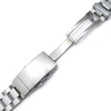 22mm Hexad 316L Stainless Steel Watch Band for Seiko New Turtles SRP777 & PADI SRPA21 Wetsuit Ratchet Buckle Brushed Strapcode Watch Bands