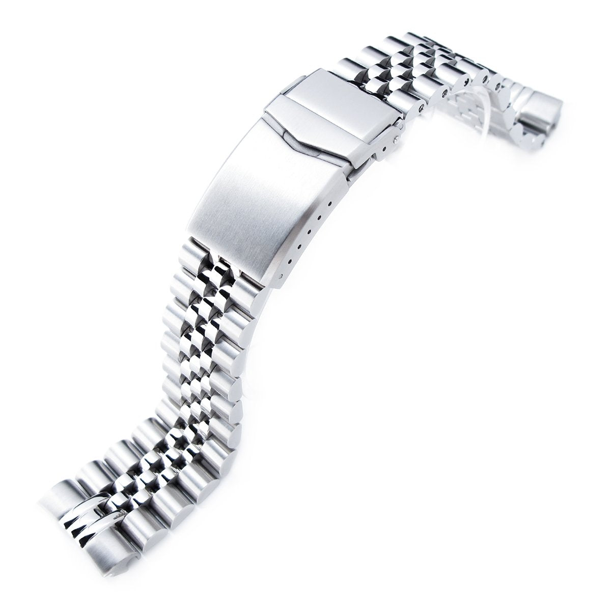22mm Super-J Louis 316L Stainless Steel Watch Bracelet for Seiko New Turtles SRP777 & PADI SRPA21 V-Clasp Brushed Strapcode Watch Bands