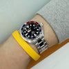 Seiko Mini-Turtle Prospex Automatic Dive Watch SRPC41K1 (PADI Edition) Pepsi Bezel Strapcode Watch Bands