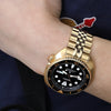 Seiko New Turtle Prospex SRPC44 Diver Goldtone Case Strapcode Watch Bands