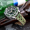 Seiko 1968 Divers 50th Anniversary Deep Forest Green Marine Master SLA019J Strapcode Watch Bands