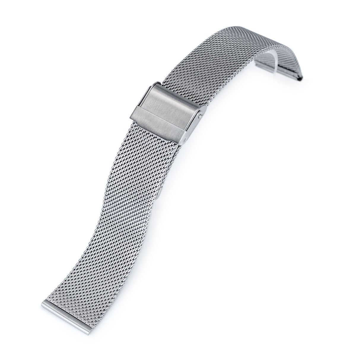 18mm 20mm or 22mm Classic Vintage Knitted Superfine Wire Mesh Band Brushed Strapcode Watch Bands