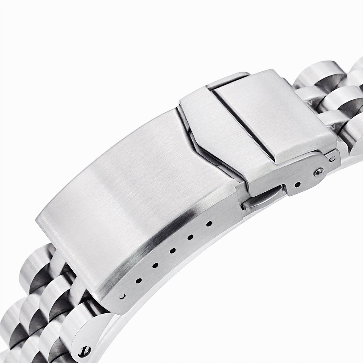 Beyond the Vintage Angus Louis Watch Bracelet for TUD Tiger 79280 in Brushed V-Clasp Strapcode Watch Bands