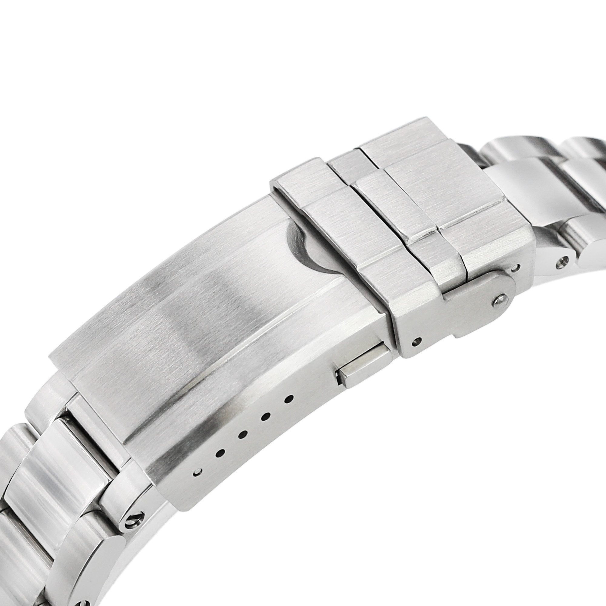 20mm Super-O Boyer 316L Stainless Steel Watch Bracelet for TUD BB58 Brushed Turning Clasp Strapcode Watch Bands