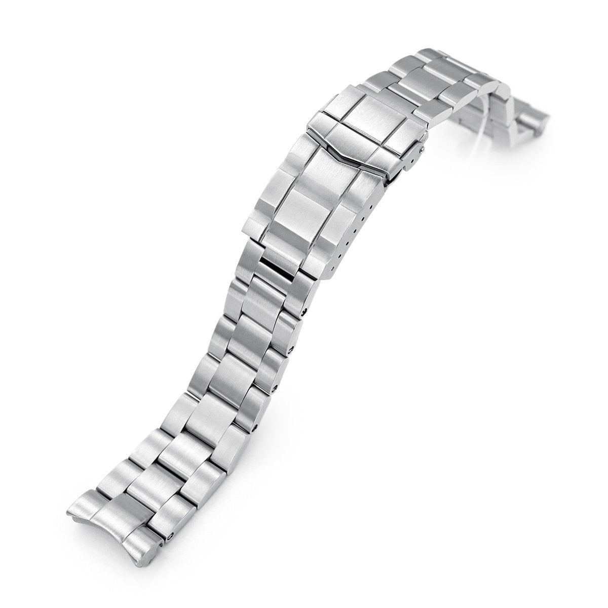 20mm Super-O Boyer 316L Stainless Steel Watch Bracelet for Seiko Mini Turtles SRPC35 SUB Clasp Brushed Strapcode Watch Bands