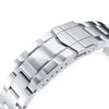 20mm Super-O Boyer 316L Stainless Steel Watch Bracelet for Seiko Baby MM 200 Brushed SUB Clasp Strapcode Watch Bands