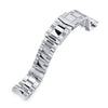 20mm Super-O Boyer 316L Stainless Steel Watch Bracelet for Seiko Baby MM 200 SUB Clasp Polished & Brushed Strapcode Watch Bands