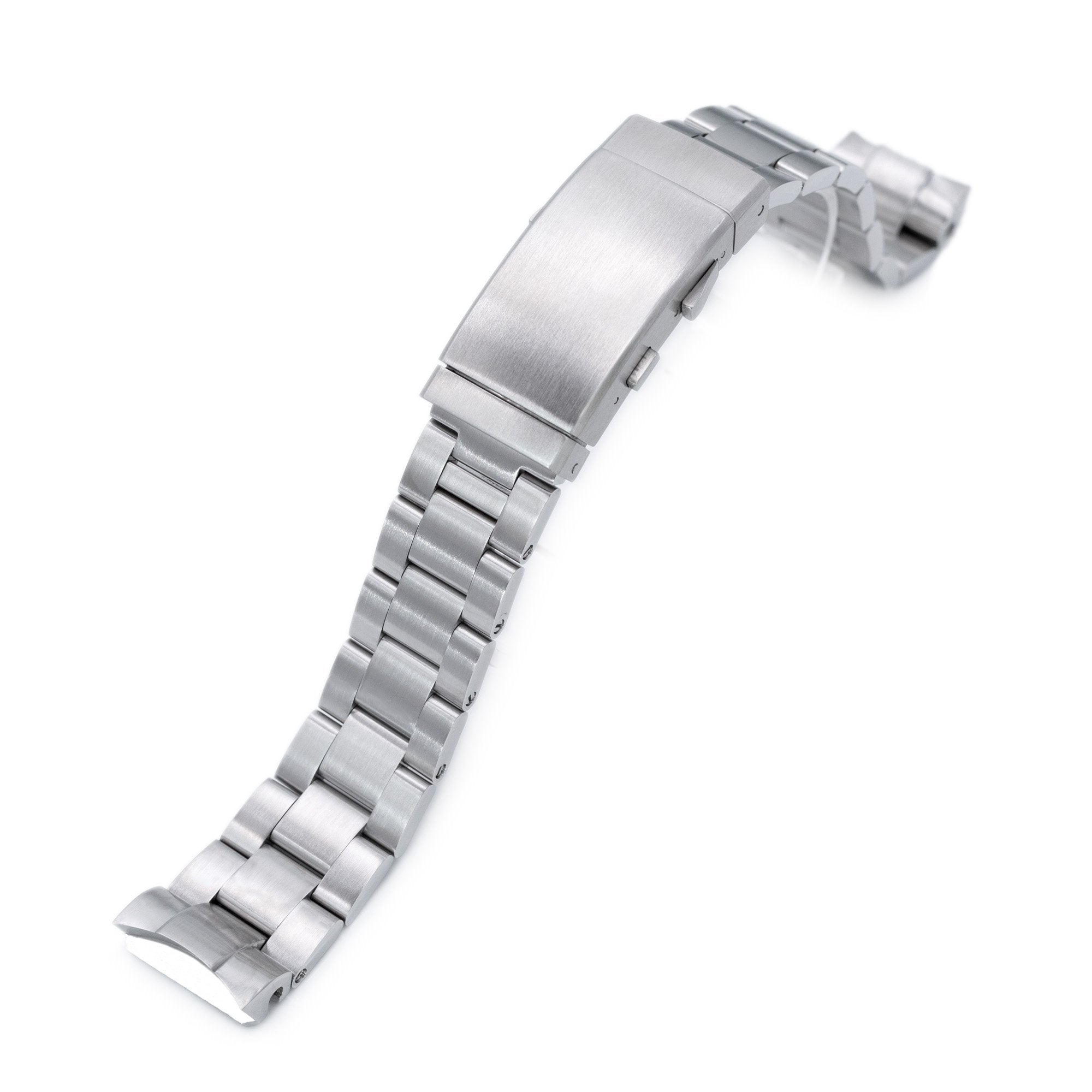 20mm Super-O Boyer watch band for Seiko MM300 Prospex Marinemaster SBDX001 SBDX017, Brushed, Wetsuit Ratchet Buckle Strapcode Watch Bands