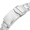 20mm Retro Razor 316L Stainless Steel Watch Bracelet for Seiko Baby MM 200 Brushed V-Clasp Strapcode Watch Bands