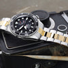 Orient RA-EL0001B00B Men Triton Black Dial Power Reserve Automatic Dive Watch Strapcode Watch Bands