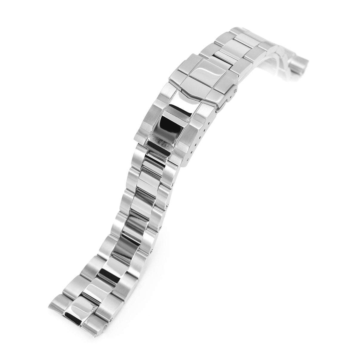 22mm Super-O Boyer 316L Stainless Steel Watch Bracelet for Seiko New Turtles SRP777 Brushed & Polished SUB Clasp Strapcode Watch Bands