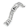 22mm Super-O Boyer 316L Stainless Steel Watch Bracelet for Orient Triton SUB Clasp Polished & Brushed Strapcode Watch Bands