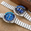 Seiko New Turtle Prospex SRPB11 Blue Lagoon Strapcode Watch Bands