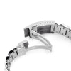 22mm Bandoleer 316L Stainless Steel Watch Bracelet for Seiko SKX007 Brushed V-Clasp Strapcode Watch Bands