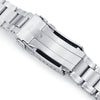 22mm Metabind 316L Stainless Steel Watch Bracelet for TUD BB 79230 Brushed V-Clasp Strapcode Watch Bands