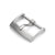 16mm, 18mm Solid 316L Stainless Steel Classic 2mm-Tongue Buckle, Brushed