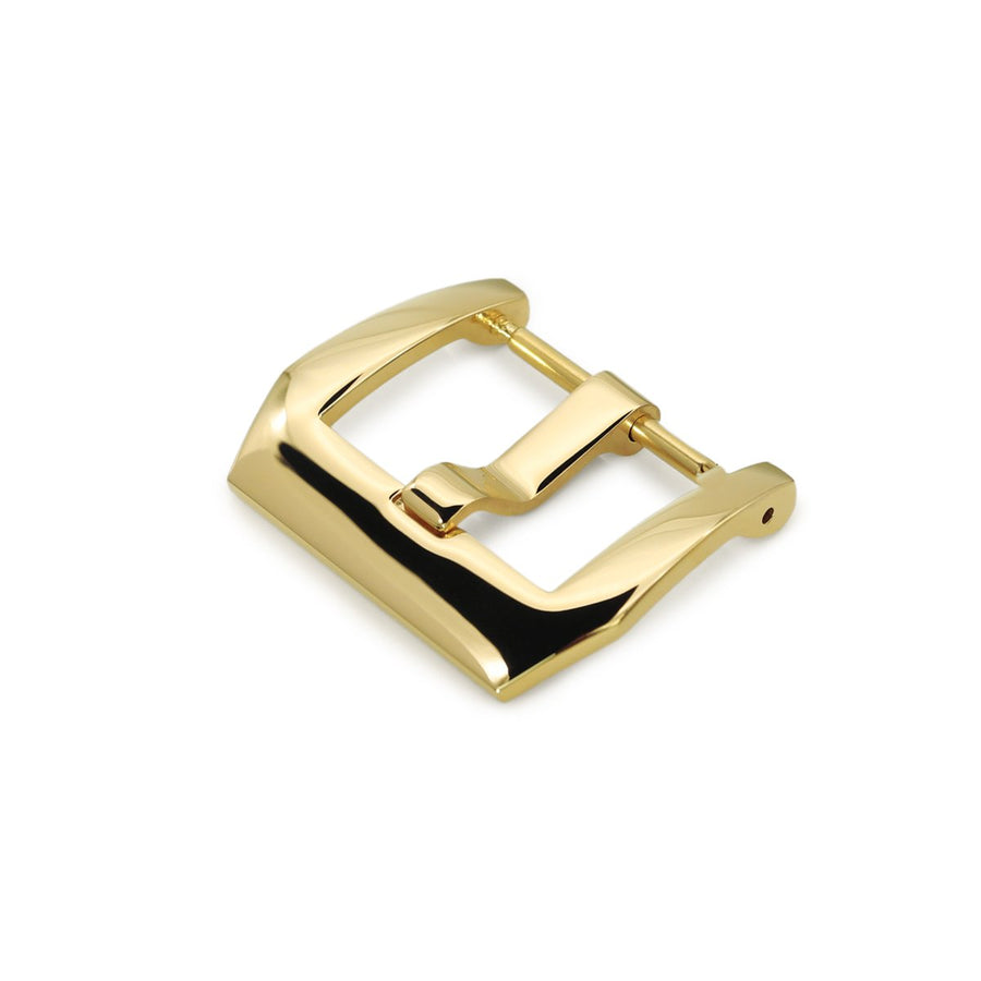 20mm #55 High Quality 316L Stainless Steel Sporty PV Spring Bar 4mm Tang Buckle, Polished IP Gold finish